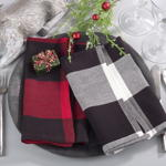 9025 buffalo plaid napkin