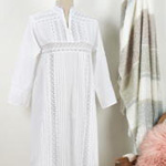 NG601 lace trim nightgown