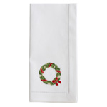 NM174 Embroidered Wreath Napkin