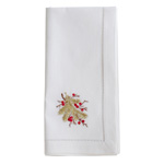NM175 Embroidered Berry Branch Napkin