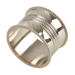 NR641 dotted napkin ring