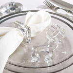 NR153 crystal napkin ring
