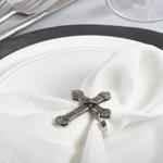 NR251 cross napkin ring