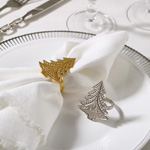 NR292 christmas tree napkin ring