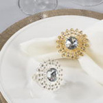 NR419 jewel napkin ring