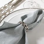 NR427 chain design napkin ring