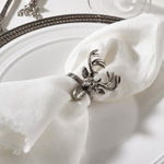 NR778 reindeer design napkin ring