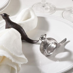 NR809 pheasant design napkin ring
