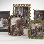 PF736 Jeweled Photo Frame