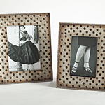 PF135 Hammered Design Photo Frame