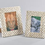 PF195 scaled bone photo frame