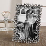 PF211 jeweled photo frame