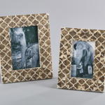 PF286 moroccan bone photo frame