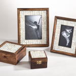 PF309 mother of pearl photo frame