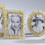 PF407 bejeweled photo frame