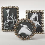 PF488 jeweled photo frame
