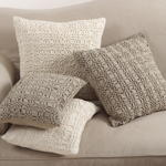 0002 smocked design pillow