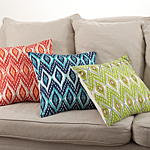 0003 stitched diamond design pillow