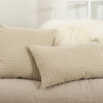 0006 french knot design pillows