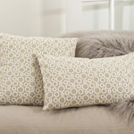 0007 circle leah embroidered pillows