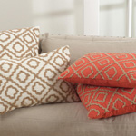 0090 jute embroidered design pillows
