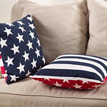 015P star spangled pillows