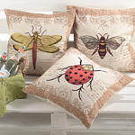 0213 dragon fly pillow
