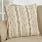 1024 striped woven pillow