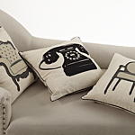 1040 petite chaise pillow