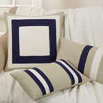 1061 dual stripe pillow