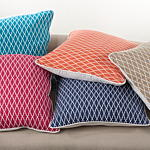 1088 ikat design pillow