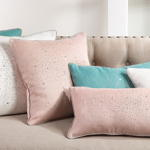 1364 shimmering crystal pillow