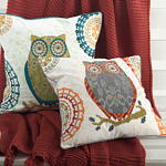 1484 owl pillows