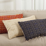 1508 chevron design pillows