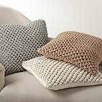 1590 sheridan knitted pillows