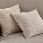 1825 woven metallic pillow