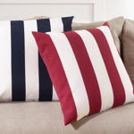 1902 striped pillow