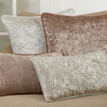 1913 Crushed Velvet Pillow