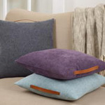 2087 chenille pillow with handle