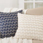 2434 nautical rope pillow