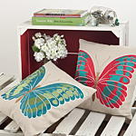 296P papillon pillows