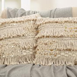 3202 sequin moroccan pillow