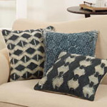3208 printed embellished pillow
