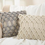 3214 diamond weave pillow