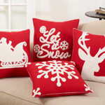 3271 snowflake pillow