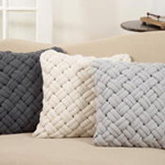 3618 chunky weave pillow