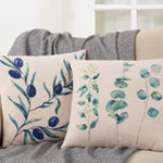 4007 olive branch pillow