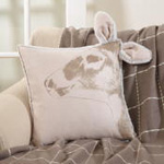 4051 deer head pillow