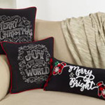 4153 joy to the world chalkboard pillow