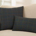 4418 plaid pillow